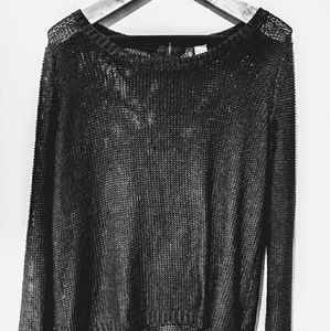 DIVIDED by H&M Crew Neck Knit Sweater Size M